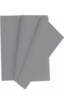 Mantel Plateado Plástico, 260 x 140 cm.