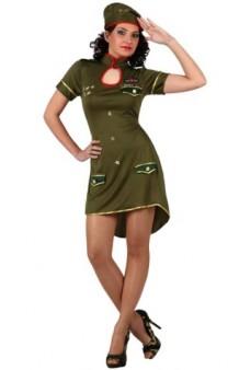 Disfraz Chica Sargento