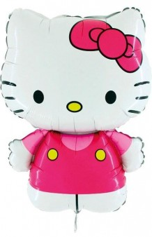 Globo Hello Kitty, 75 cm. AGOTADO.