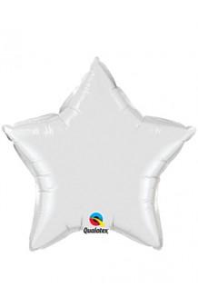 Globo Estrella Blanca, 46 cm.