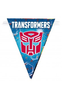 Banderines Transformers, 360 cm.