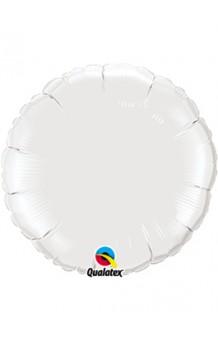 Globo Círculo Blanco, 46 cm. AGOTADO.