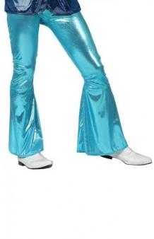 Pantalón Disco Azul Celeste