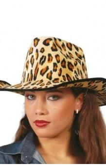 Sombrero Cowboy Leopardo