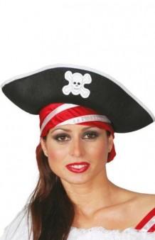 Sombrero Pirata Adulto Classic