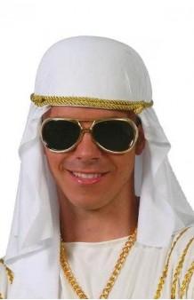Turbante Árabe Blanco