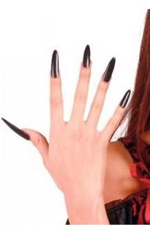 Uñas Negras Extra Largas