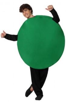 Disfraz Ficha Parchís Verde