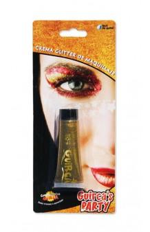 Tubo De Crema Glitter Oro