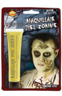 Tubo de Crema Piel Zombie Verdosa