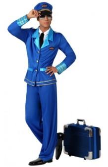 Disfraz Piloto Avión