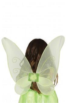 Alas verdes Hada/Mariposa, 46 cm.