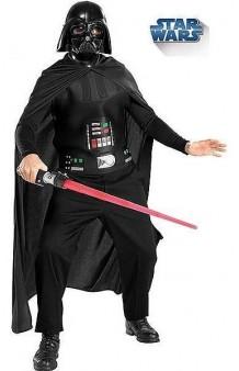 Disfraz Darth Vader + Máscara + Espada Luz T. U