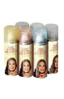 Spray Cabello Destellos Rojo