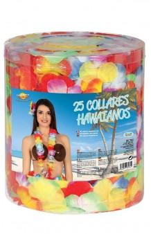 Set 25 Collares Hawaianos Multicolores