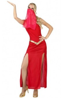 Disfraz Bailarina Árabe Roja