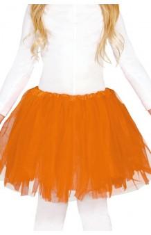 Tutú Naranja Infantil