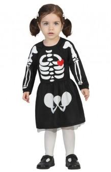 Disfraz Chica Esqueleto Baby