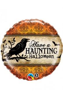 """Globo """"Haunting Halloween"""", 46 cm."""