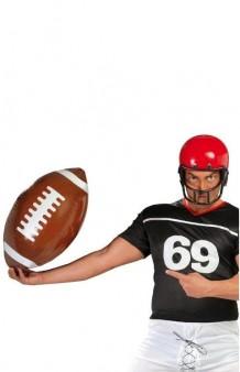 Balón Rugby Hinchable, 50 cm.