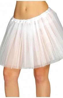 Tutú Blanco Adulta, 40 cm.
