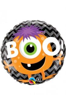 "Globo ""Boo!"" Halloween, 46 cm."