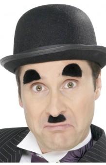 Bigote + Cejas Chaplin