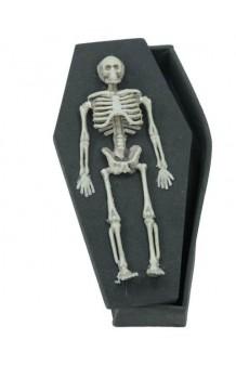 Féretro Esqueleto, 18 cm.