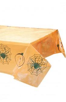 Mantel Halloween Plástico, 183 x 137 cm.