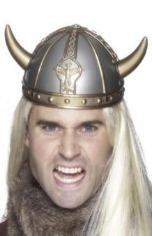 Casco Vikingo Metalizado