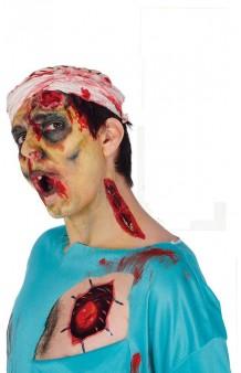 Tatuaje Halloween Surtido, 16 x 13,5 cm.