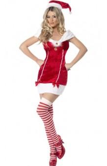Disfraz Miss Santa Claus Stocking
