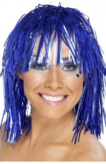 Peluca Azul Lumalina