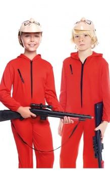Disfraz Atracador Rojo