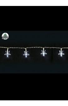 Guirnalda Luminosa 15 Estrellas LED (con pilas), 160 cm.