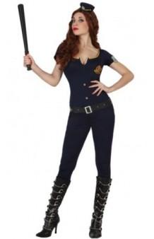 Disfraz Chica Policía Guardia