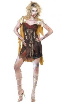 Disfraz Gladiadora Zombie T. S