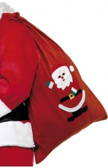 Saco Papá Noel, 90 x 60 cm.