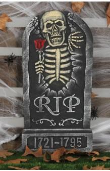 Lápida Halloween, 65 x 32 cm.