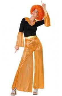 Disfraz Disco Naranja Chica