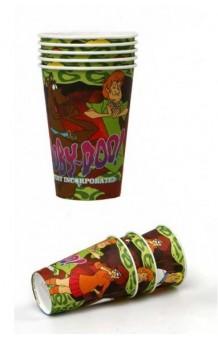 Vasos Scooby-Doo, 5 uds.