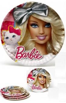 Platos Barbie, 5 uds.