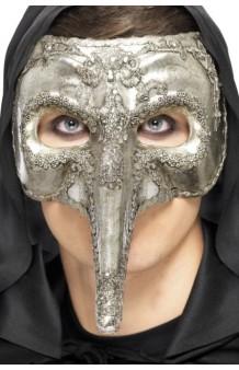 Máscara Capitán Veneciano Deluxe
