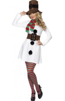 Disfraz Muñeco Nieve Snowgirl