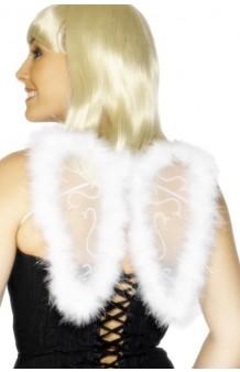Alas Blancas 25 cm. Glitter & Marabú