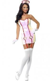 Disfraz Enfermera Brillante Fever