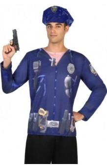Camiseta Chico Policía