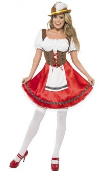 Disfraz Tirolesa Bavarian T. L