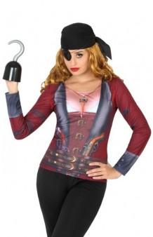 Camiseta Chica Pirata