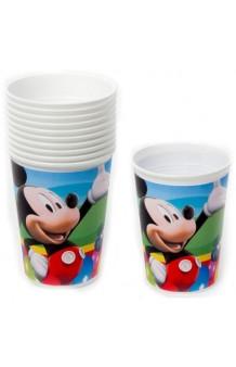 Vasos Mickey, 8 uds.
